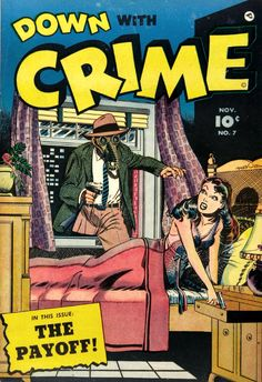 Image result for golden age crime comics