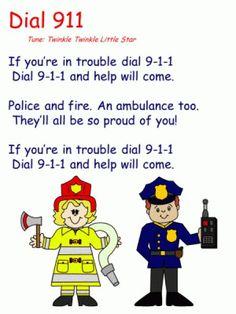 How to teach your kindergartener or preschooler to dial 911 | April is 911 Edu Month #911edu