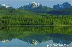 Reflection of the Ragged Range Mountain