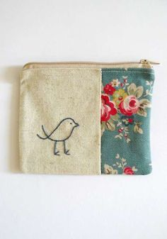 coin purse little bird by edward & lilly