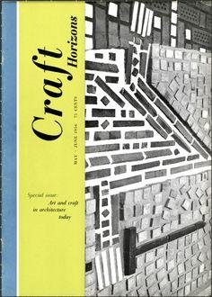 Craft Horizons magazine May/June 1956 (Volume 16, Number 3)