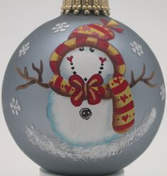 Pix For > Christmas Ornament Paintings