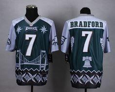 nike philadelphia eagles 7 michael vick midnight green mens stitched nfl elite noble fashion jersey