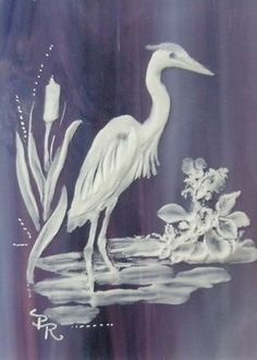 Trippy Painting, Peony Painting, Sand Glass, Glass Engraving, Watercolor Sea, Sculpture Painting, Sea Birds, Glass Etching, Glass Design