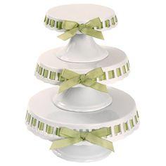 Vintage Wedding Decor-Ball Jars, Milk Glass, Cake Plates, Linens and MORE :  wedding jars lace vintage milk glass cake plates Cake Plates