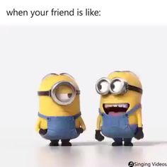 memes minions em portugues * memes minions - memes minions portugues - memes minions em portugues - memes minions en español - memes minions hilarious - memes minions so true Minion Gif, Funny Minion Videos, Minion Humour, Happy Minions, Funny Minion Pictures, Minion Jokes, Minions Quotes, Minion Stuff, Minions Happy Birthday Song