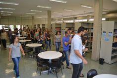 Recepção dos alunos ingressantes 2018 na Biblioteca