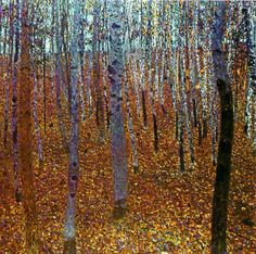 KLIMT Gustav (1902) Beech Forest