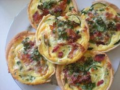 roommom27 Tomato Zucchini Bacon Gorgonzola Quiche