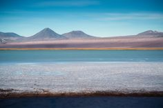 Licancabur vulcan as seen from Tebinquiche lagoon by Alfred Myers on 500px