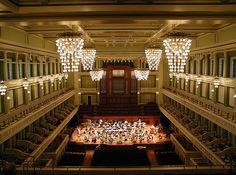 Boston Symphony Hall. Designed by McKim, Mead and White, it was built in 1900 for the Boston Symphony Orchestra. The hall was designated a U.S. National Historic Landmark in 1999. It was then noted that Symphony Hall remains, acoustically, among the top three concert halls in the world and is considered the finest in the United States.