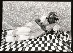 Magnificent! Seydou Keïta (Malian, 1921/23 - 2001) 'Reclining Woman' 1950s-1960s Gelatin silver print, 1975 5 x 7 in (13 x 19 cm)
