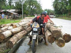 Alternative way to carrying a wood.