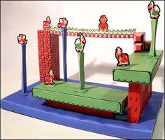 Super Mario Papercraft: World 7-3