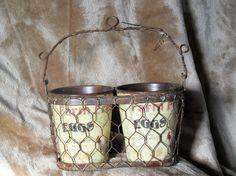 Basket for Farm Eggs