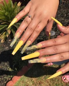 Drip Nails, Bling Acrylic Nails, Acrylic Nails Coffin Short, Square Acrylic Nails, Simple Acrylic Nails, Best Acrylic Nails, Acrylic Nail Designs, Summer Acrylic Nails, Acrylic Nails Yellow