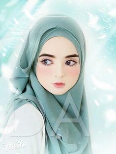 Cute Cartoon Pictures, Cute Cartoon Girl, Cartoon Art, Wallpaper Hp, Cute Girl Wallpaper, Hijab Drawing, Portrait Cartoon, Islamic Cartoon, Lovely Girl Image