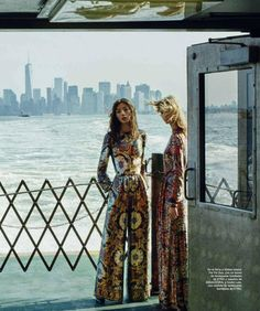 Harper's Bazaar Spain October 2015 - Etro