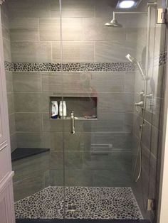 If you are looking for Master Bathroom Shower Remodel Ideas, You come to the right place. Here are the Master Bathroom Shower Remodel Ideas. Bathroom Renos, Basement Bathroom, Bathroom Renovations, Bathroom Ideas, Budget Bathroom, Bathroom Makeovers, Master Bathroom Shower, Bathroom Shower Remodel, Bathroom Cabinets