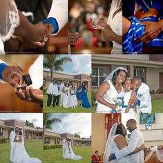 We joined hands, broke bread in communion, washed each other's feet, exchanged rings and vowed for a life together. We give God all the glory for our union and we are grateful for this blessed year as we celebrate our first anniversary.