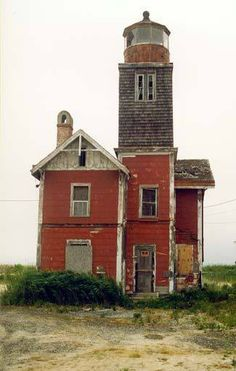 Abandoned Lighthouse - Mispillion, Delaware