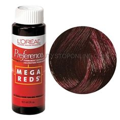 L'Oreal Preference Mega Reds Medium Intense Deep Auburn - Beauty Stop Online Just Girly Things, Good Things, Ion Hair Colors, Jasmine Sanders, Red Media, Auburn, Loreal, Hair And Nails, Hair Makeup