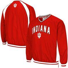 Indiana Hoosiers Colosseum Fair Catch Pullover Jacket - Crimson - $39.99