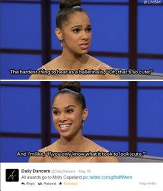 Hats off for MISTY COPELAND!!!: