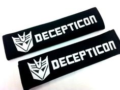 Car seat belt cushions - Pin it :-) Follow us .. CLICK IMAGE TWICE for our BEST PRICING  SEE A LARGER SELECTION of Car seat belt cushions at  http://zcarseatcushions.com/product-category/car-seat-belt-cushions/ - Decepticon Transformer Seat Belt Cover Shoulder Pad Cushion (2 Pcs)