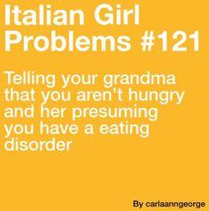 More like Mexican girl problems in my case, but oh so true. Italian Memes, Italian Quotes, Italian Girl Problems, Movie Quotes, Funny Quotes, Italian Phrases, Learning Italian, Italian Girls, Stupid Memes