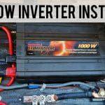 1000 watt Inverter Installation Feature Photo