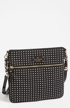 Love this crossbody bag - Kate Spade never lets me down.
