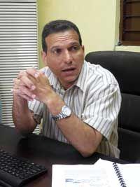 Doctor en Ciencias Bladimir Moreno, director del Cenais.