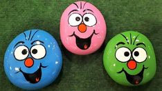 Craft Projects, Projects To Try, Diy Wind Chimes, Painted Rocks Kids, Story Stones, Lucky Stone, Rock Painting Designs, Kindness Rocks, Rock Crafts
