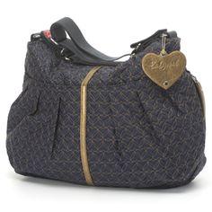 9864ed757dda Amanda quilted navy baby diaper bag by Babymel Cute Diaper Bags
