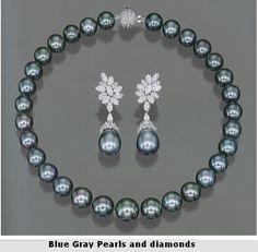 South Sea Pearl and Diamond set