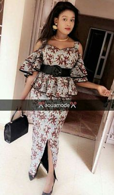 Latest ankara gown dresses for you-operanewsapp African Bridesmaid Dresses, African Wear Dresses, African Fashion Ankara, Latest African Fashion Dresses, African Print Fashion, Africa Fashion, African Attire, African Blouses, Ankara Skirt And Blouse