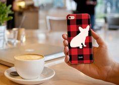 Custom Frenchie iPhone Case by LauraCLeBlanc on Etsy