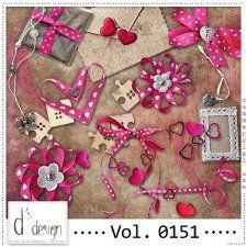 Vol. 0151 - Love Mix  by Doudou's Design  cudigitals.com cu commercial scrap scrapbook digital graphics#digitalscrapbooking #photoshop #digiscrap