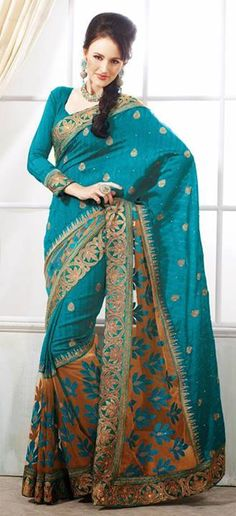 2014 DESIGNER SAREE COLLECTION | Trendy Designer Wedding Sarees In Huge Collection 2013-2014 | Trendy ...