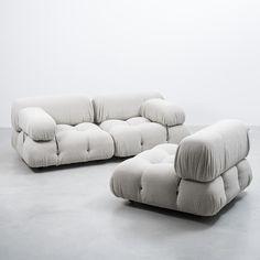 Camaleonda Three-Seater Modular Sofa by Mario Bellini for B&B Italia, Sofa Chair, Sofa Furniture, Furniture Design, Sofa Design, Lounge Design, Modern Interior Design, Interior Architecture, Colorful Apartment, Sofa Sale
