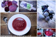 How to make warm, velvety and vibrant beetroot soup