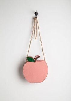 Linda bolsinha em forma de maçã super kawaii