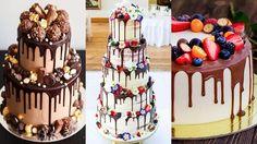 """Drip cake: bolo com """"gotas"""" escorrendo é tendência em casamentos"""