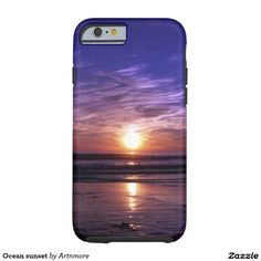 Ocean sunset tough iPhone 6 case