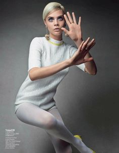 Cara Delevingne by Patrick Demarchelier for Vogue China