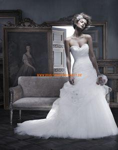 Designe Luxuriöse Hochzeitskleider aus Softnetz