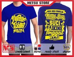 Kaos Tshirt Distro NDX AKA Nyikso Batin #Biru Cotton Combed #Metsustore