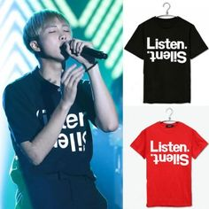 Kpop BTS Tshirt Bangtan Boys Unisex Rap Monster TEE T-SHIRT Cotton Clothes