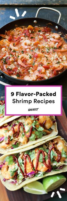 These globally inspired shrimp dishes are like mini flavor explosions. #shrimp #recipes http://greatist.com/eat/shrimp-recipes-packed-with-flavor